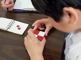 bilans psychologique WISC V, épreuve des cubes
